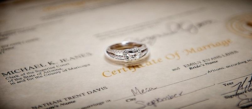basics of marriage license