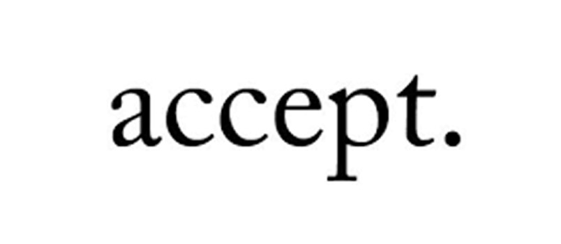 Accept people as they are