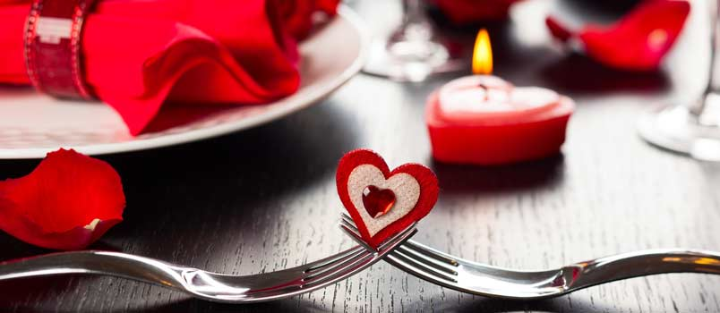 Candlelight breakfast - Valentine's Day