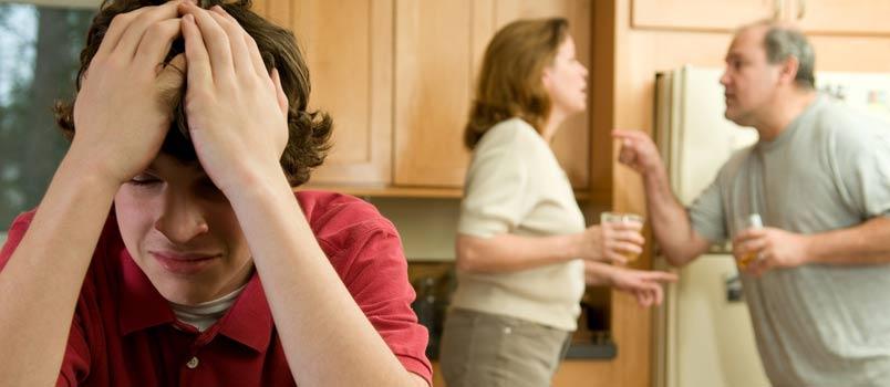 How to help teens to make them through parent's divorce