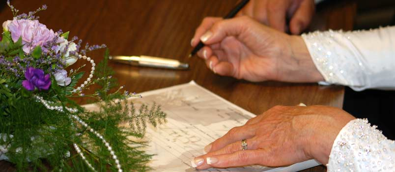 obtaining copy of marriage license