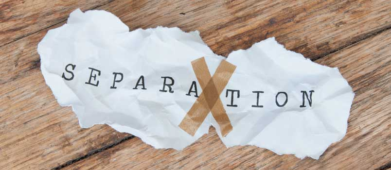 What to do when separating from spouse