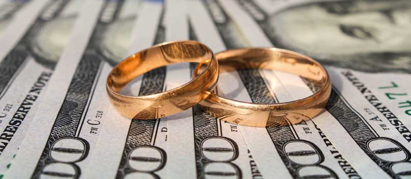 Marriage license cost
