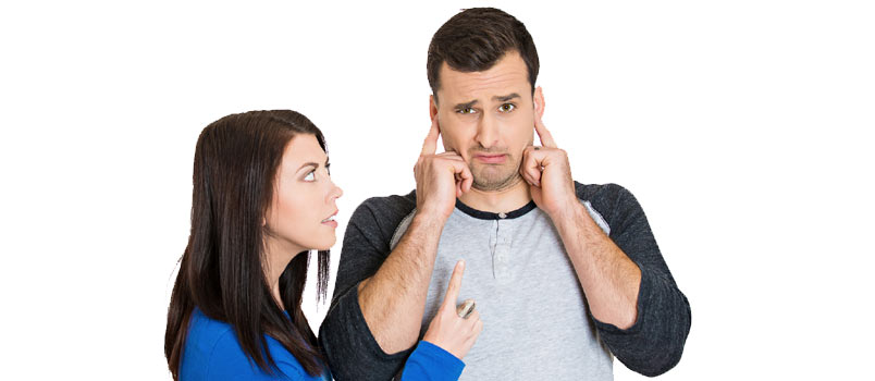 Why blaming your partner won't help