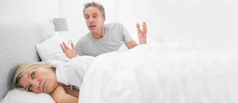 How your spouse is responding