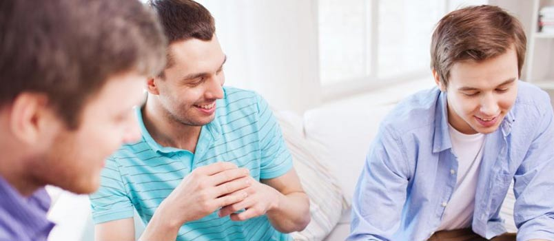 Encourage a guys night out