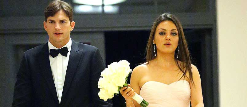 Will their marriage work? Ashton Kutcher and Mila Kunis – Newlyweds and new parents!