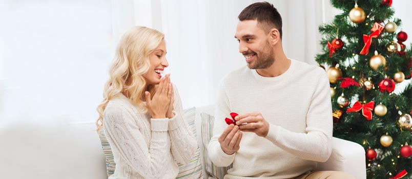 Ideas to propose for marriage this christmas