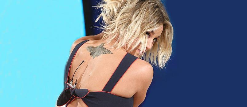 Kaley Covers her Wedding Date Tattoo and Openly Discusses Divorce