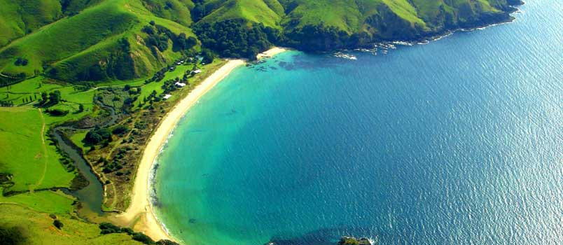 Honeymooner's heaven: New Zealand