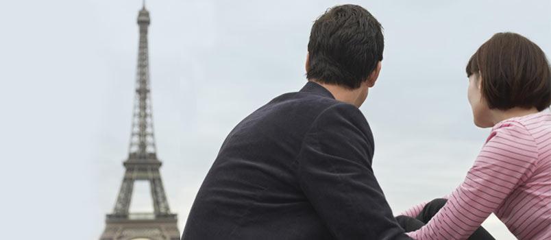 Most romantic: Paris, France