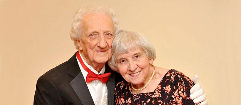 Roy and Nora together after 70 years