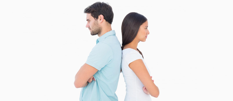 Signs of a marriage that is destined to fall apart