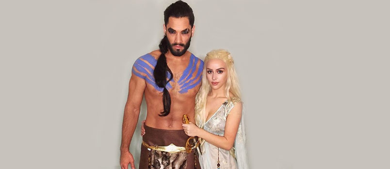 Drogo and Khaleesi