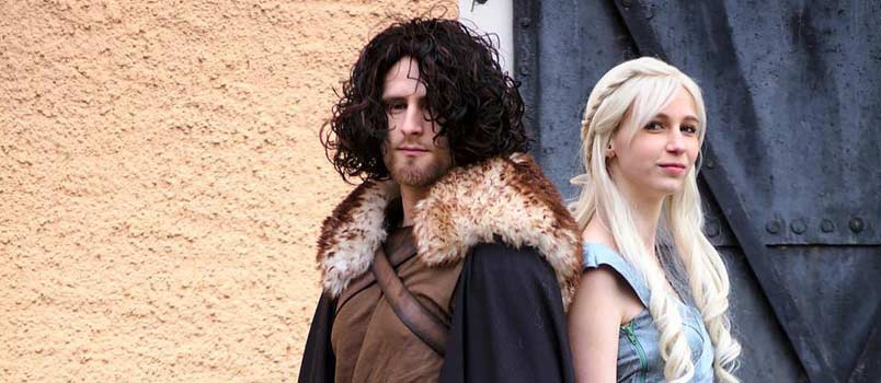 Jon Snow and Khaleesi