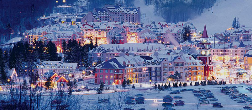 mont tremblant quebec - Best Christmas Vacations For Families
