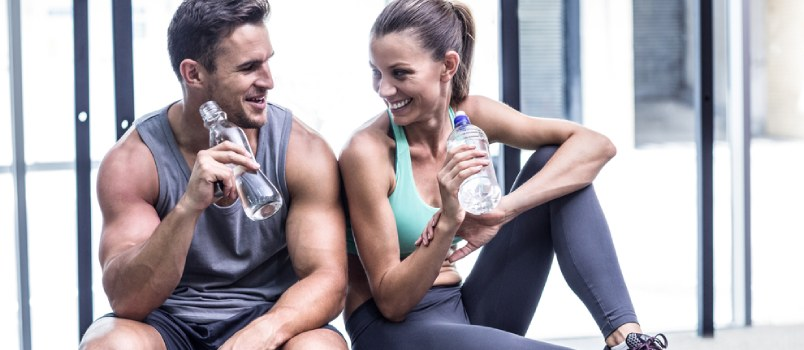 Going to the gym together is a great way to share a common interest
