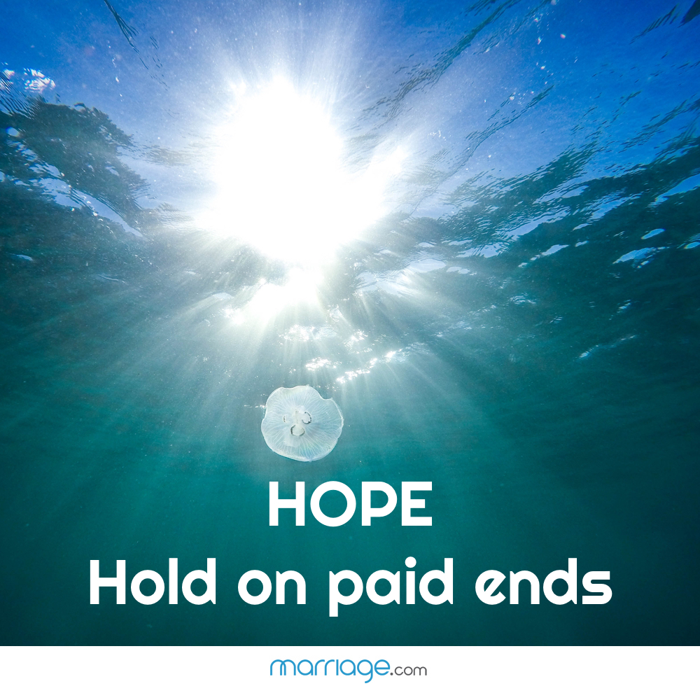 HOPE- Hold on paid ends