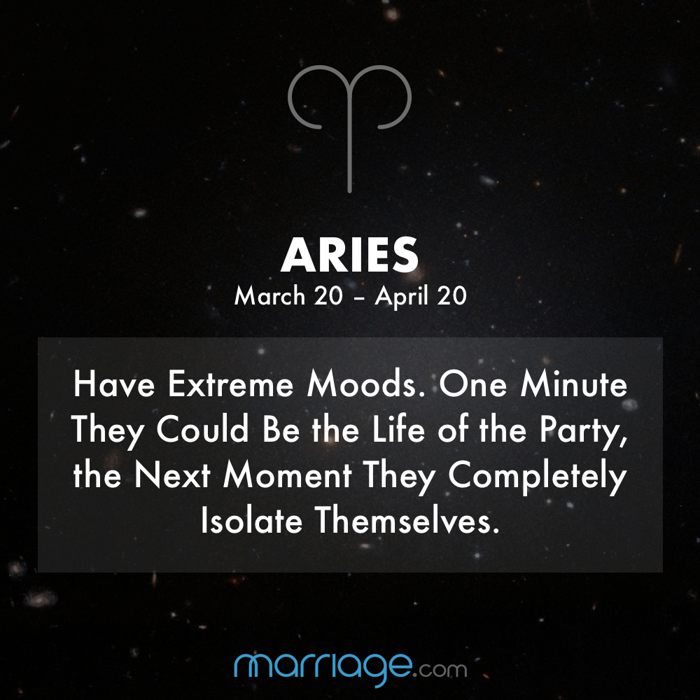 Zodiac Quotes - ARIES Have Extreme Moods. One Minute They ...