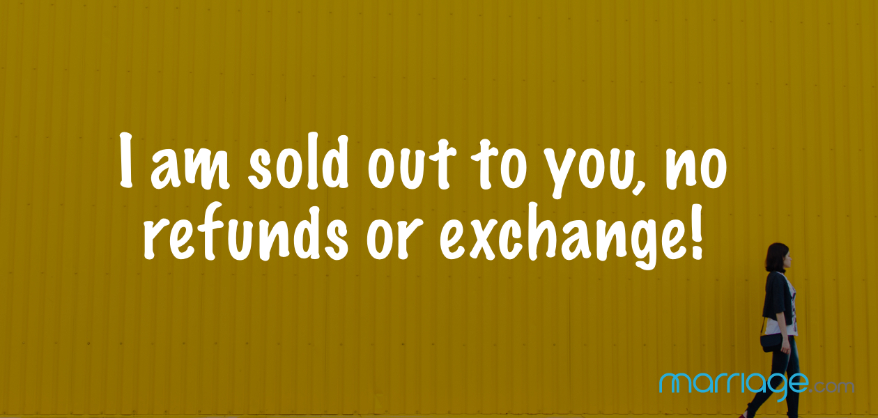 I am sold out to you, no refunds or exchange!