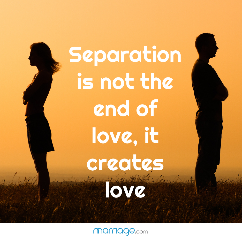 love and separation