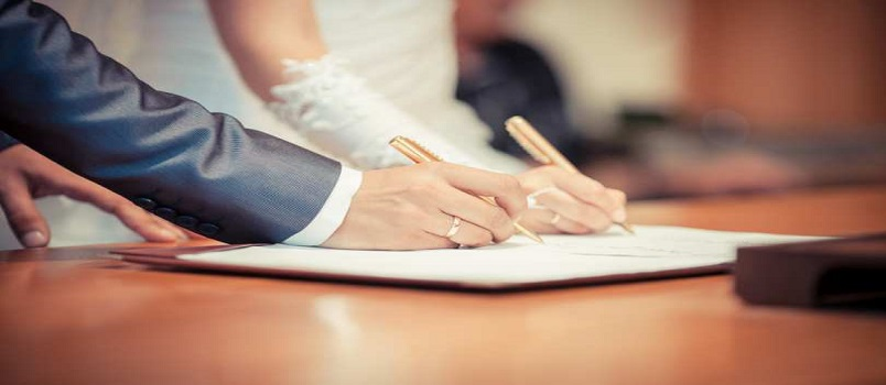 What Do You Need to Get a Marriage License?