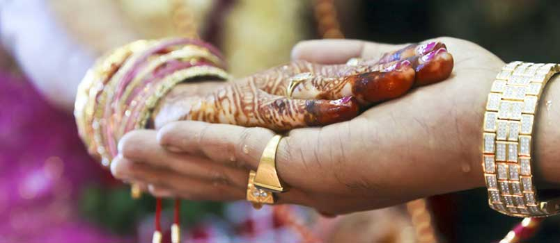 Sacred seven vows of hindu marriage