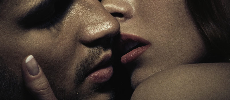 Kissing is a very intimate act that often leads to more physical intimacy