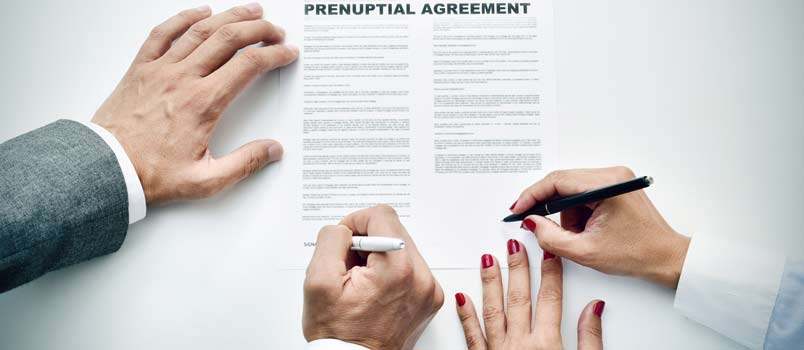 A jointly discussed and negotiated prenuptial that clearly outlines what each spouse will be entitled to from the pre-marriage assets if the marriage breaks up