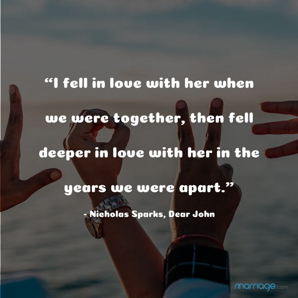 Love and Separation: Quotes and Sayings | Marriage.com