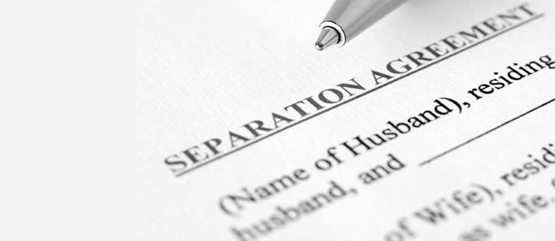 Requirements for legal separation