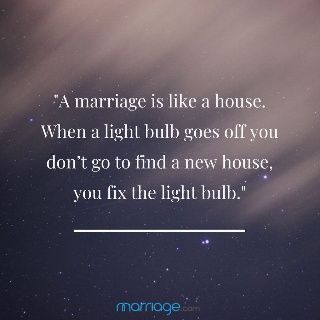 For quotes marriage newlyweds advice Marriage Advice