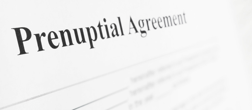 what is a prenuptial agreement india