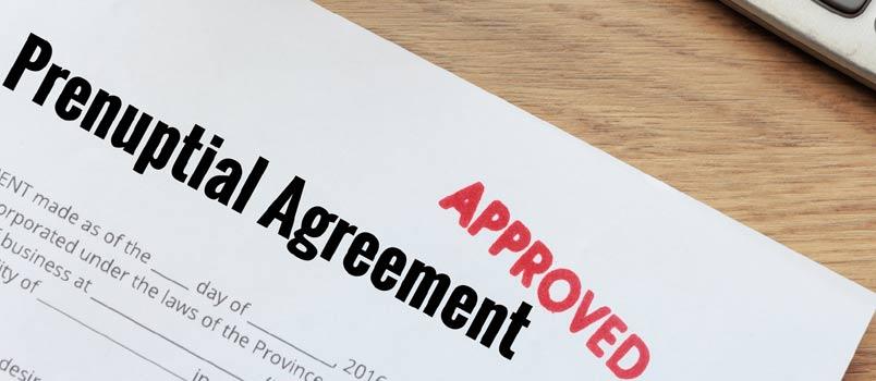 Prenuptial agreement checklist