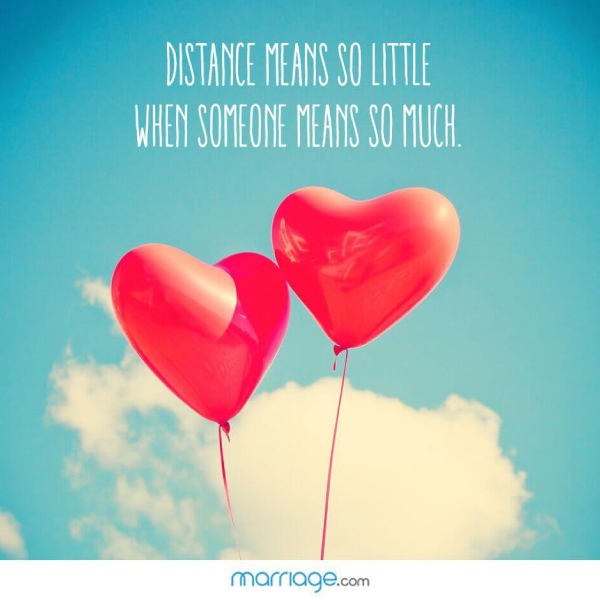 6 Beautiful Quotes on Long Distance Relationships