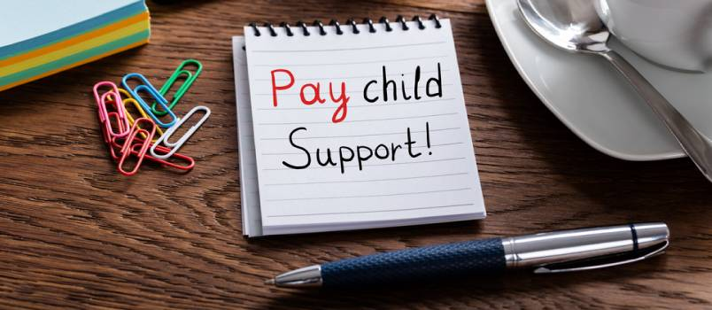 Paying child support is non negotiable