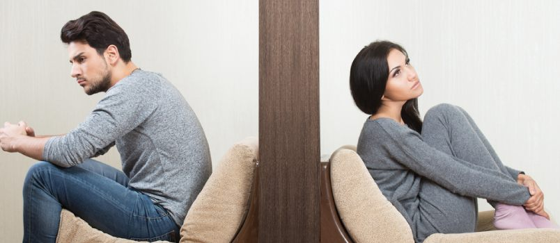 Emotional divorce is a sort of a defense mechanism, or coping with a threat to one's emotional well-being