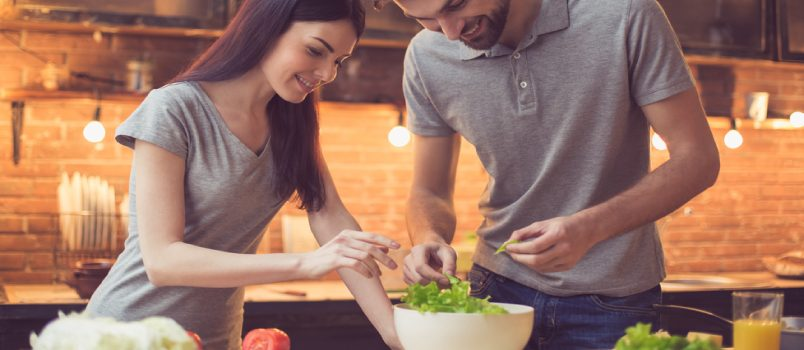 Some relationship experts do believe a good meal is a way to a person's heart