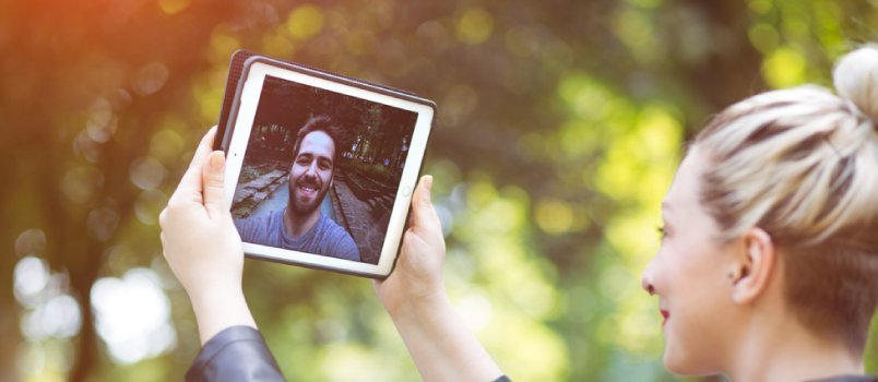 Periodic Absences Strengthen Long-Distance Relationships