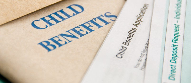 Child benefits are separate