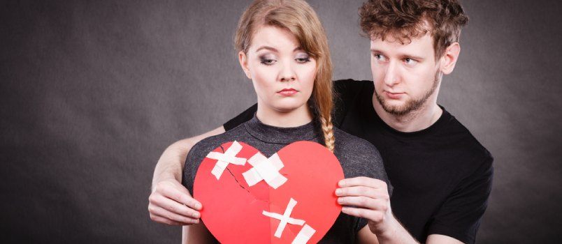 Betrayal from your partner can break your heart