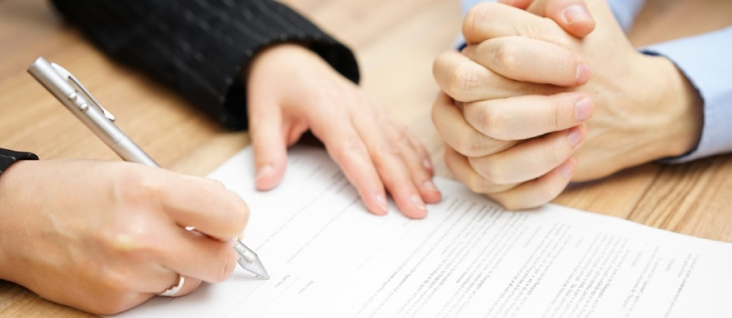 Divorce papers often include other formalities related to the court process