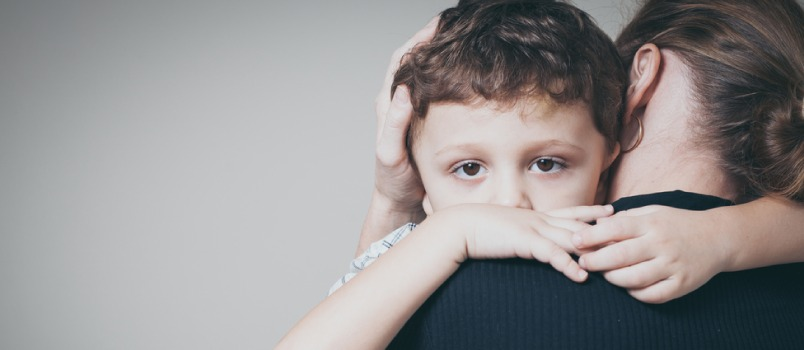 Empathy helps in creating a vagal tone in the brain of child and helps in calming down.
