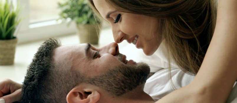 Sexual compatibility is a very important healthy relationship characteristic.