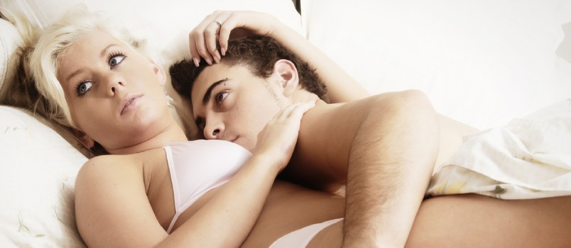 An entirely sexless marriage is a warning sign to a spoiled marriage