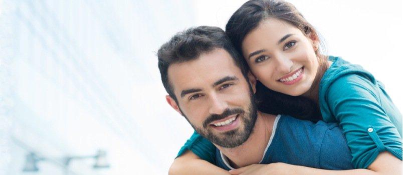 Happy couples argue respectfully