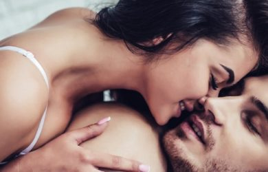 If you really want to give your partner pure pleasure, start with his mouth