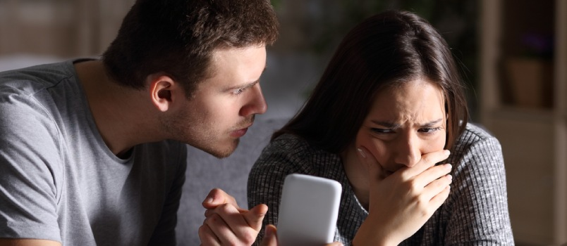 Lying to each other can ruin a relationship
