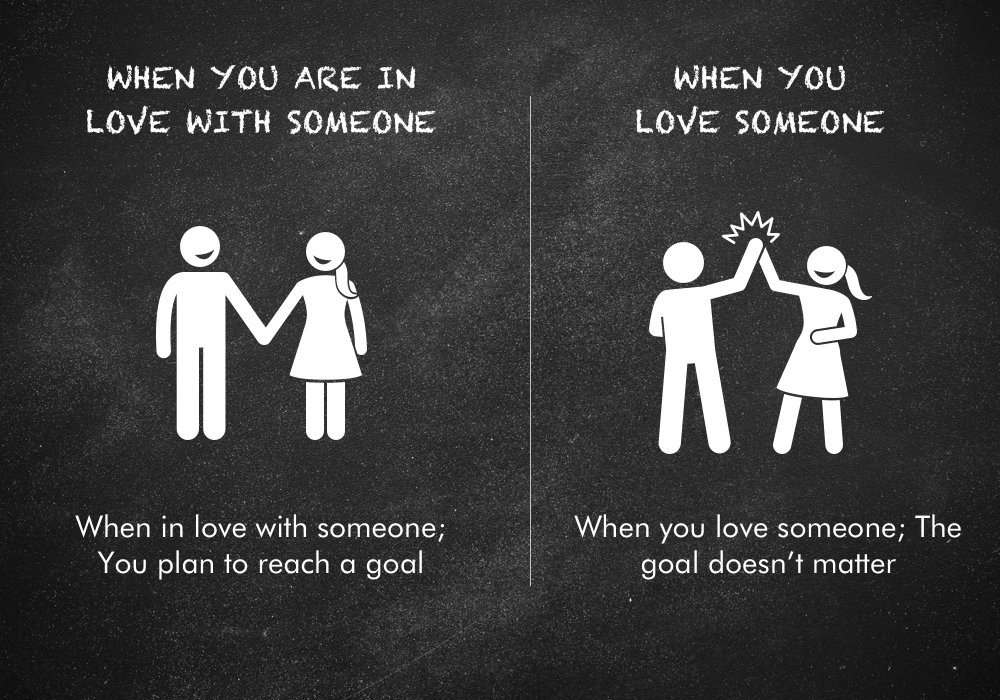Be someone when can love them you t but with Everything You