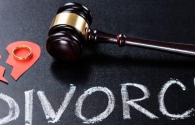 Divorce carry feelings of dejection